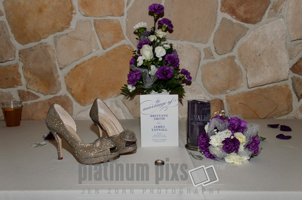 Wedding Items Including, Shoes, Invitation, Flowers